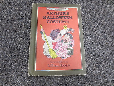 Arthur's Halloween Costume by Lillian Hoban (1984, Hardcover) 1st edition - Arthur's Halloween Book
