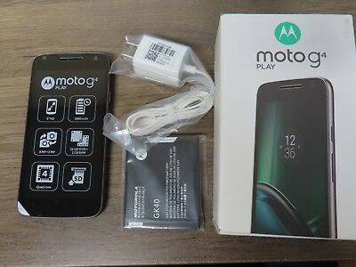 Motorola Lenovo Moto G4 Play XT1607 16GB GSM Unlocked NIB brand New in box clean