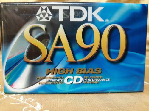 VINTAGE LOT OF  TDK SA 90 SA90 BLANK CASSETTE TAPES - NOS -
