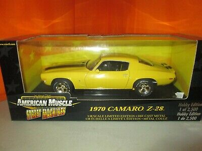 Ertl Collectibles 1970 Chevy Camaro Z28 1 of 2500 Limited Ed 1:18 Diecast in Box