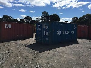 Shipping container 20ft with delivery Richmond Hawkesbury Area Preview