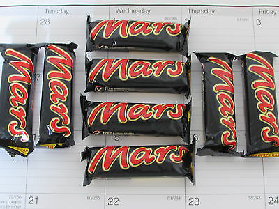 8 X 1 4Oz Mars Bars  Made In The Uk