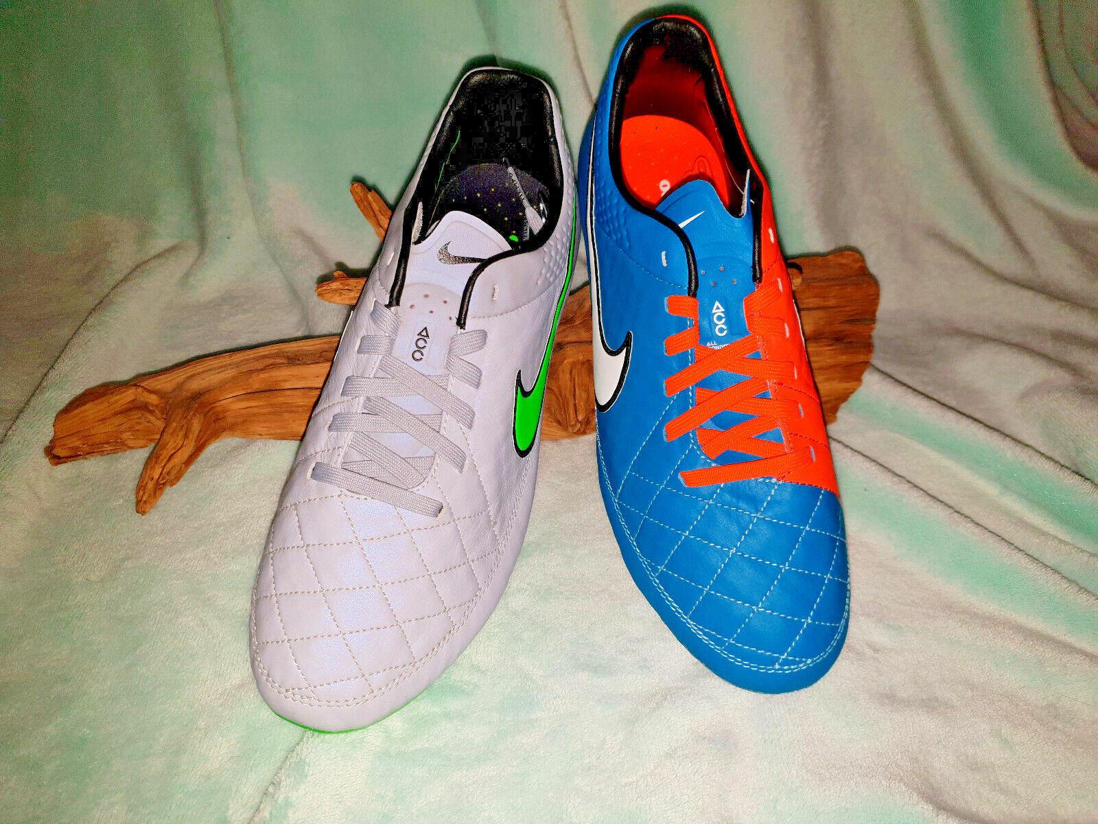 size 40 872d8 bb647 Nike Tiempo Legend V SG Fußballschuhe Stollen Gr 40-44 NEU + Tasche +  Schlüssel