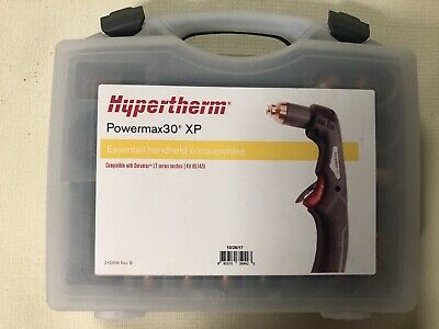Hypertherm Powermax 30xp Consumables Cover 220120 Adalpter Cord Manual