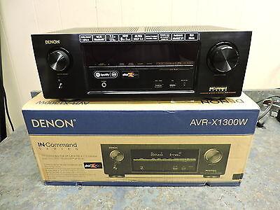 Denon AVRX1300W 7.2 AV Receiver w/ Dolby Atmos