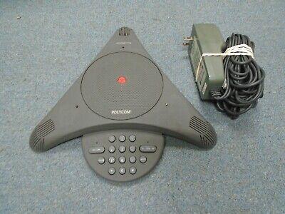 Polycom Soundstation Ex 2201-03309-001 Conference Telephone W Power Supply