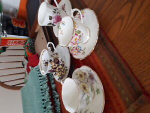 China cup and saucer 5$ each