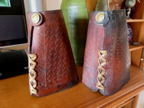 Antique Cowboy Wrist Cuffs  Late 1800