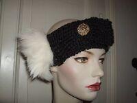 Cappello Fascia Headband Lana Hat Pelliccia Fur Pelz Volpe Fox Fuchs Strass - fuchs - ebay.it