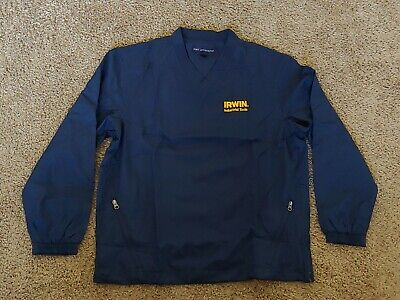 NEW Port Authority Windbreaker Style Pullover Mens Size Med Jacket Irwin (Authority Style)