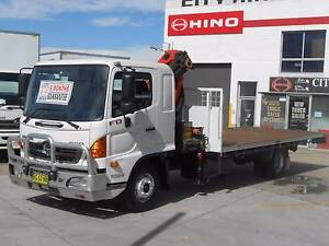 2010 Hino FD 500 Series / Palfinger Crane Old Guildford Fairfield Area Preview