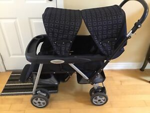 "Peg perego ""Tender"" double stroller"