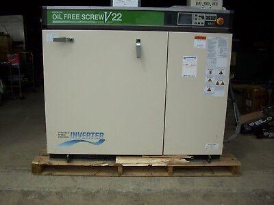 Hitachi Dsp-22va6 I M100 Oil Free Rotary Screw Compressor 2012