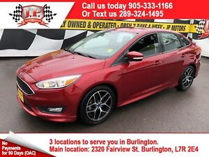 2016 Ford Focus SE, Auto, Back Up Camera, Heated Seats, 7,000km