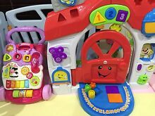 Vi tech walker and fisher price learning home Avondale Heights Moonee Valley Preview