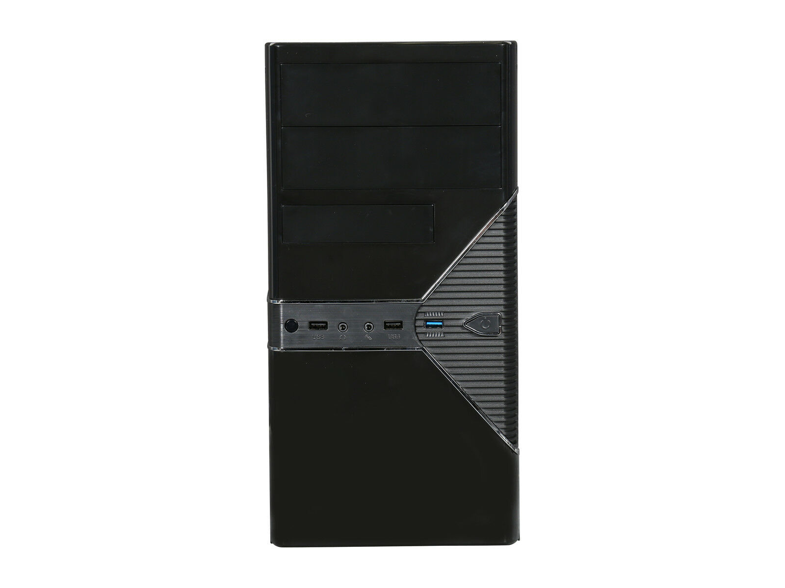 Rosewill Black Computer PC Case, Micro ATX Mini Tower, Dual Fans USB 3.0, FBM-05