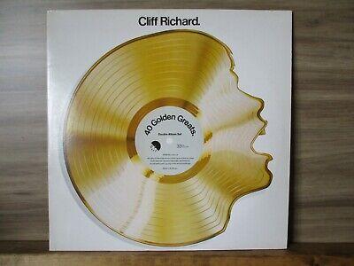 Cliff Richard – 40 Golden Greats     2 × Vinyl LP Album Compilation Remastered