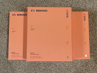 BTS Official Memories of 2019 Blu-ray DVD (No Photocard)