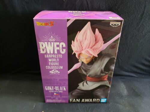Bandai BWFG Goku-Black Super Saiyan Rose Figure Statue Brand New Fan Award 2018