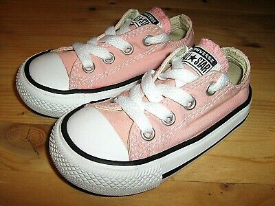 Baby Girls sz US 5 Converse All Star Chuck Taylor Canvas Low Top Sneaker