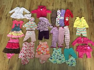 Girls 3-6 month lot