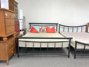 TODAY DELIVERY MODERN design Double bed frame (mattress available