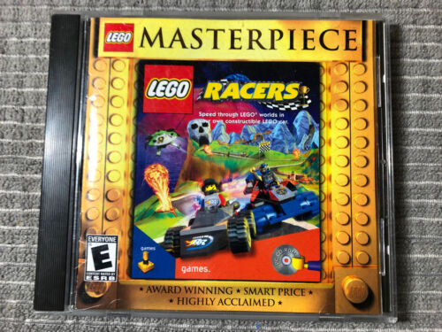 Computer Games - Masterpiece LEGO Racers PC Video Game Computer Racing CD-ROM Complete Good Cond