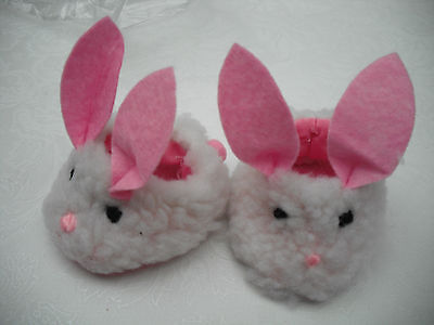 SOPHIAS  DOLL SLIPPERS  BUNNY DUCK  DOG OR FLOWER STYLE - Duck Or Bunny