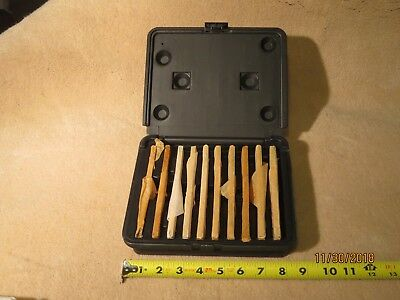 Machinist Precision Parallels Set 18 Steel 10 Pairs With Case