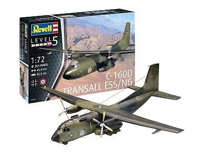 Revell 03916 C-160D Transall ESS/NG Transportflugzeug Plastic Bausatz 1:72 NEU