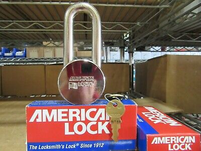2 American Lock H10 Heavy Duty Padlocks Hardened Usa Keyed Alike New In Box
