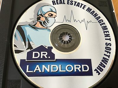Dr. Landlord Real Estate Management Software CD - SILVER EDITION! BRAND NEW!