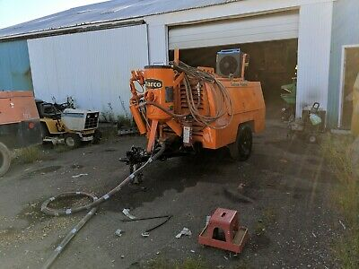 Sullivan 185 Cfm 150 Psi Towable Air Compressor John Deere Sandblaster System