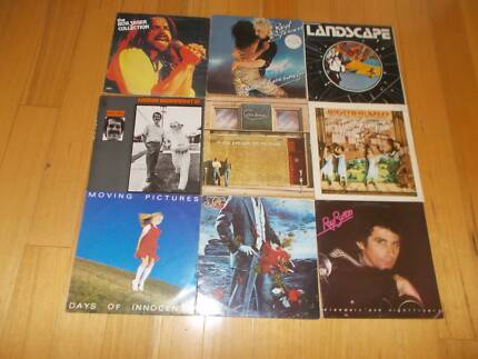 VARIOUS VINYL LPs 60s,70s,80s ALL IN VERY GOOD CONDITION $5 EACH!