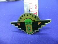 Britannia Airways Manhattan Windsor 1990/'s Cabin Crew 3 Wing Hat Badge