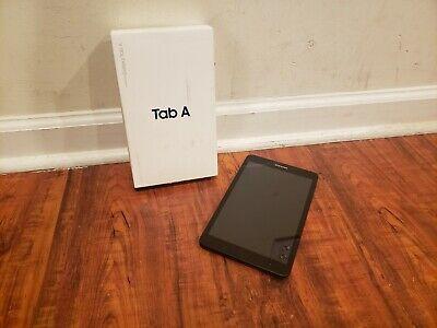 "Samsung Galaxy Tab A 8.0"" SM-T380 16GB Wi-Fi Android Tablet Black Fair condition"
