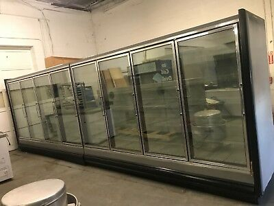 8 Glass Door Cooler Unit With Remote Refrigeration