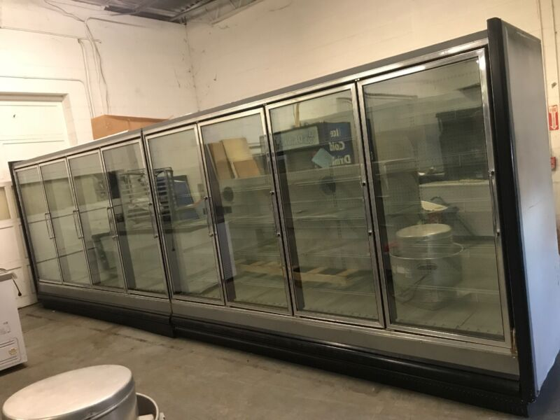 8 Glass Door Cooler unit With Remote Refrigeration *PRICE DROP*