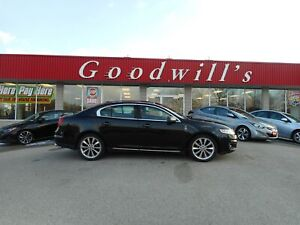 2011 Lincoln MKS BASE! CLEAN CARPROOF! HEATED LEATHER SEATS!