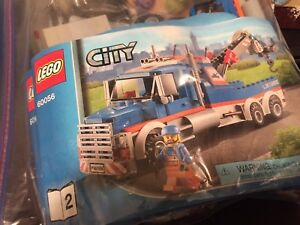 Lego city 60056 tow truck complete with book and box