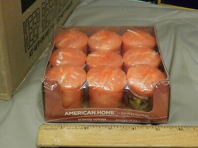 American Home by Yankee Candle ~ Scented Votives ~ Shades of Fall ~ (LOT of 6)
