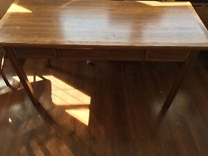 Desk, chairs for sale