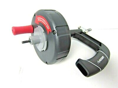 Husky Drain Cleaner Snake 14 X 25ft Clears Drain Clogs Quickly Drill Or Hand