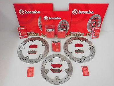 Brembo Bremsscheiben Bremse vorne + hinten + Sinter Bremsbeläge BMW R 1200 GS S