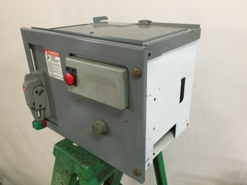 Square D Model 6 Motor Control Center Bucket, 1/3 HP, NEMA Size 1, 3 Phase, 480V