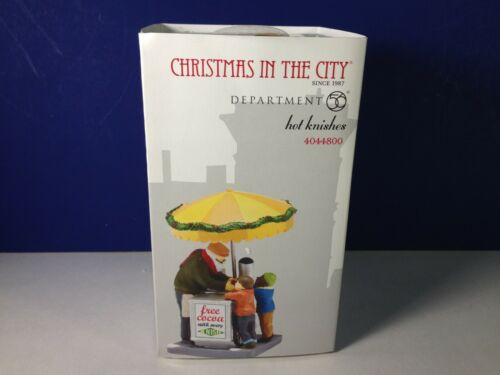 Dept 56 CIC Christmas in the City HOT KNISHES 4044800 Brand New RARE!