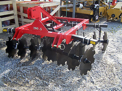 New Dirt Dog Hd 6 Ft. 3 Point Disc Harrow --can Ship Very Inexpensive