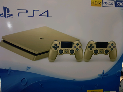 SONY PS4 PLAYSTATION GOLD,EXTRA GOLD CONTROLLER