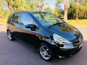 2007 Honda Jazz GLi Hatch Log Books Service Black Moorebank Liverpool Area Preview