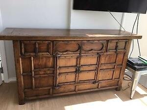Wooden sideboard Coogee Eastern Suburbs Preview